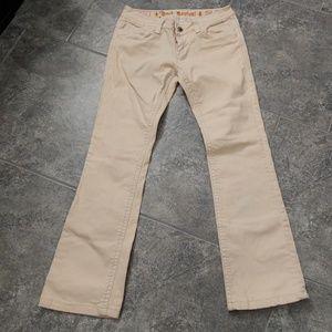 Rock Revival Johanna peach jeans sz. 29 defective